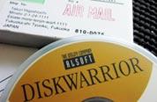 DiskWarriorインストールメディア