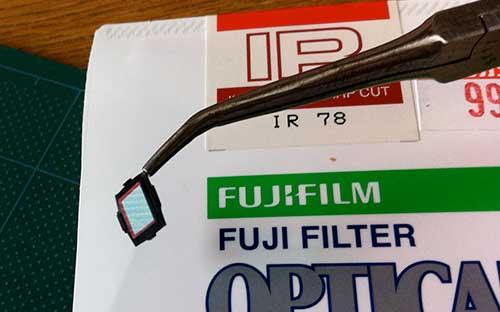 赤外線写真に使う、IR-78