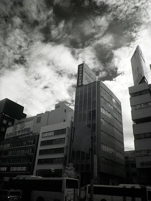 赤外線写真,Infrared Photography,福岡市天神