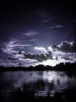 大濠公園から撮影した 赤外線写真(Infrared Photography)