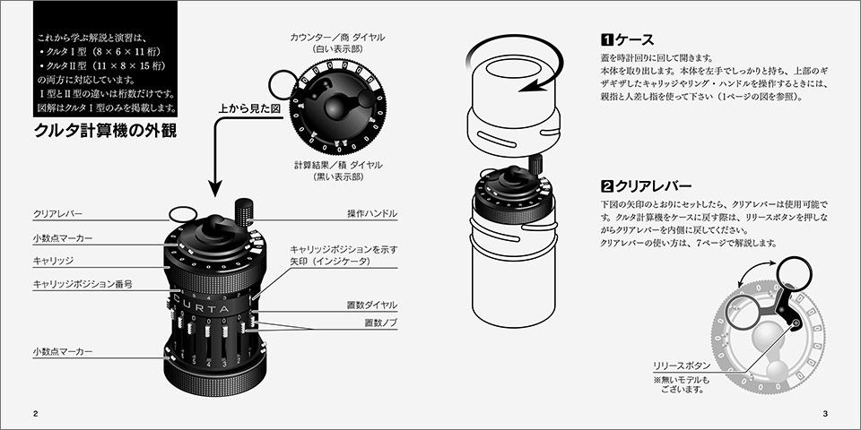 クルタ計算機チュートリアル 日本語版:なか見