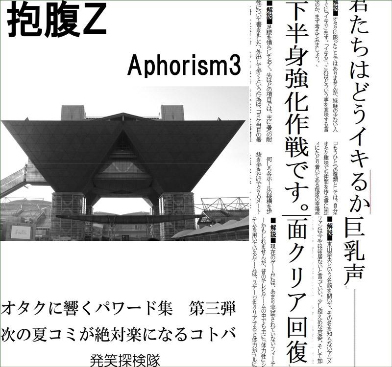 報復Z アフォリズム3