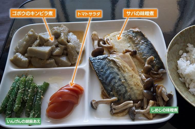 マルハニチロ食品「やさしい素材」の調理例